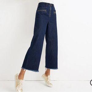 Madewell x Karen Walker® Blazar Zip Jean plus size